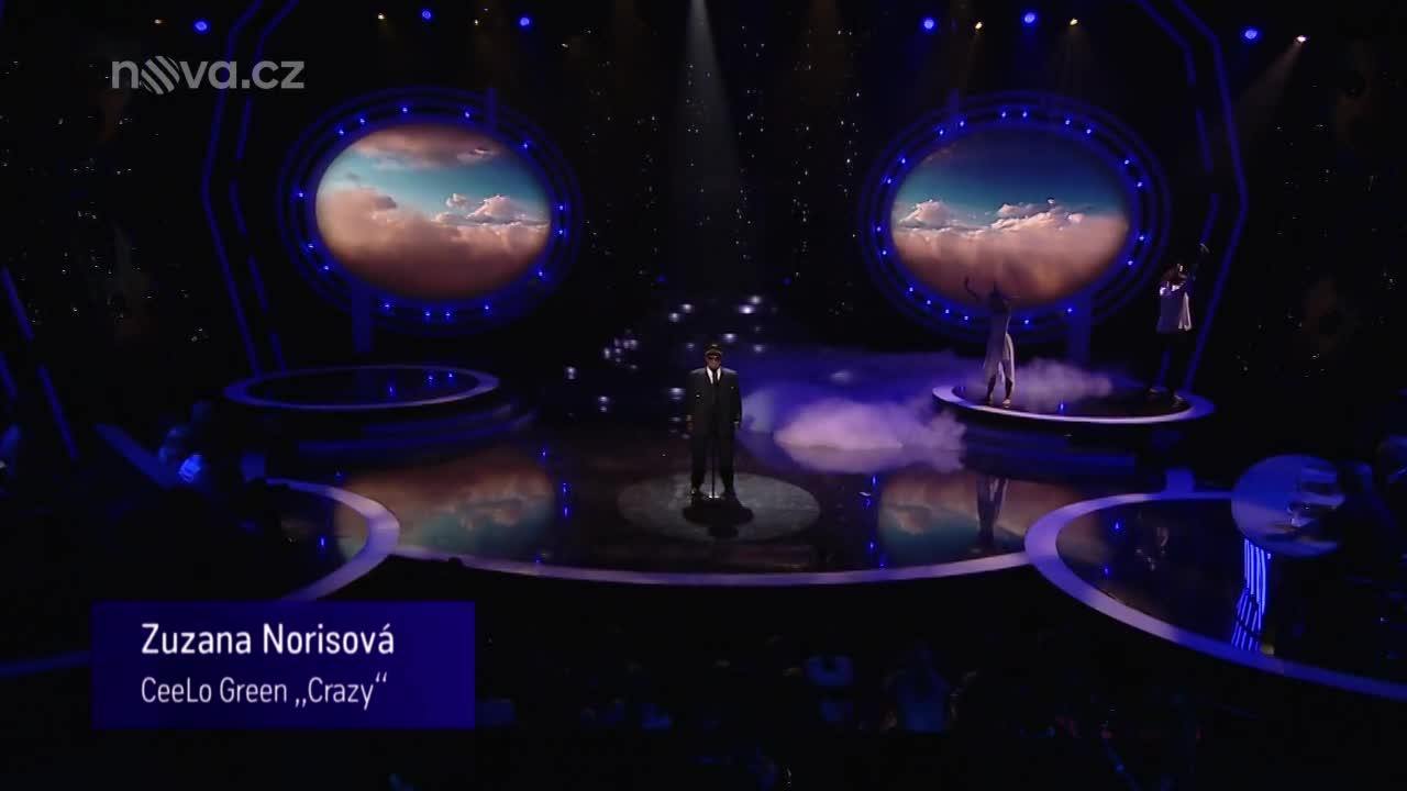 Zuzana Norisová jako Gnarls Barkley - Crazy