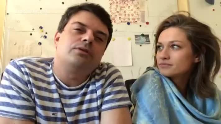 Live stream s představiteli Oty a Magdy Filipem Rajmontem a Veronikou Čermák Mackovou
