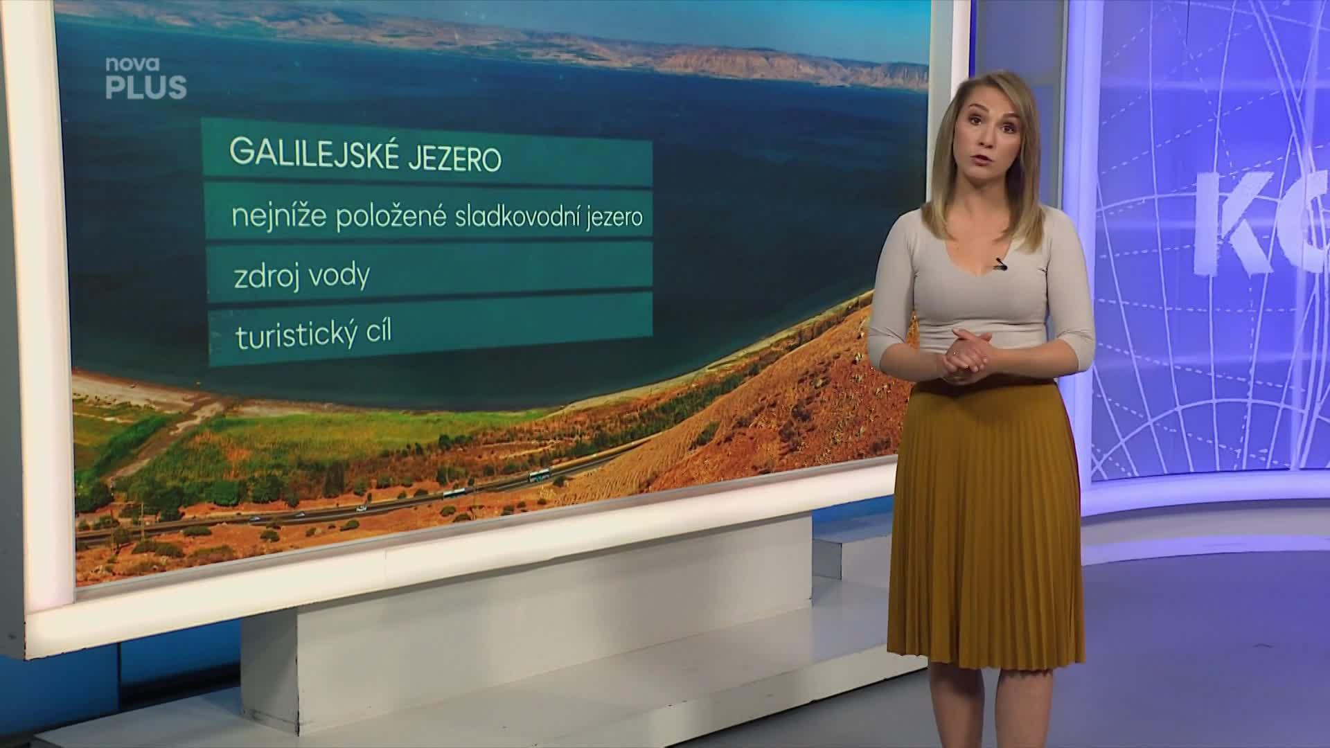 Galilejské jezero má po letech konečně dostatek vody. Blýská se na lepší časy?