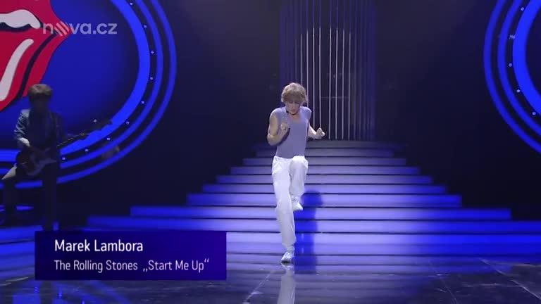 Marek Lambora jako Mick Jagger – Start Me Up