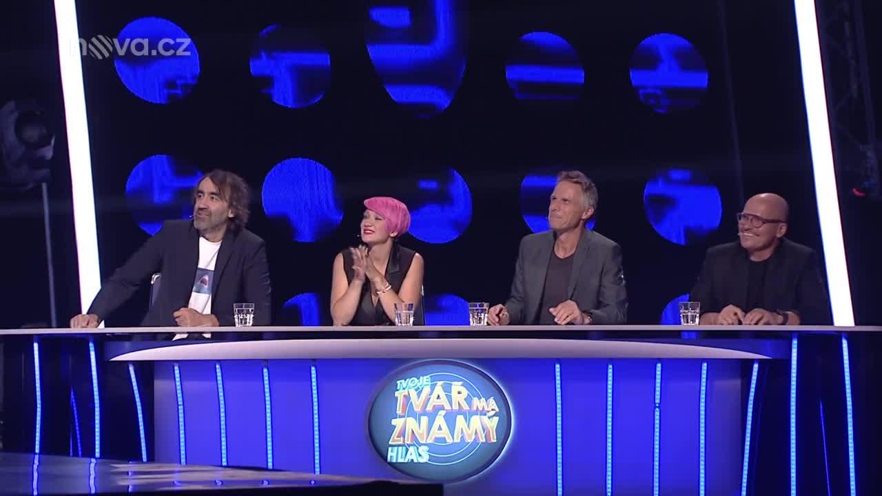 Zuzana Norisová, Dalibor Gondík a Adéla Gondíková jako Bee Gees – Night Fever