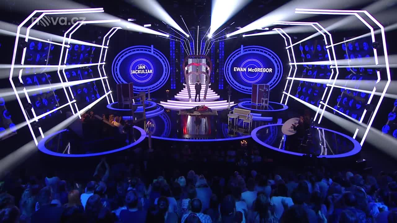 Ján Jackuliak a Jitka Schneiderová jako Ewan McGregor a Nicole Kidman – Your Song