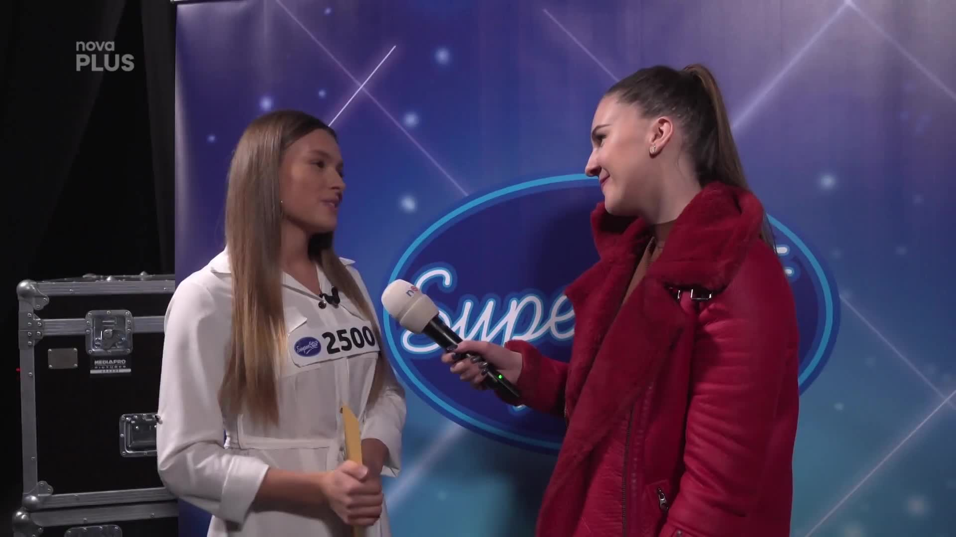 Bonusové reportáže 2020 Superstar - behind the scenes - Klára Berisha B088479