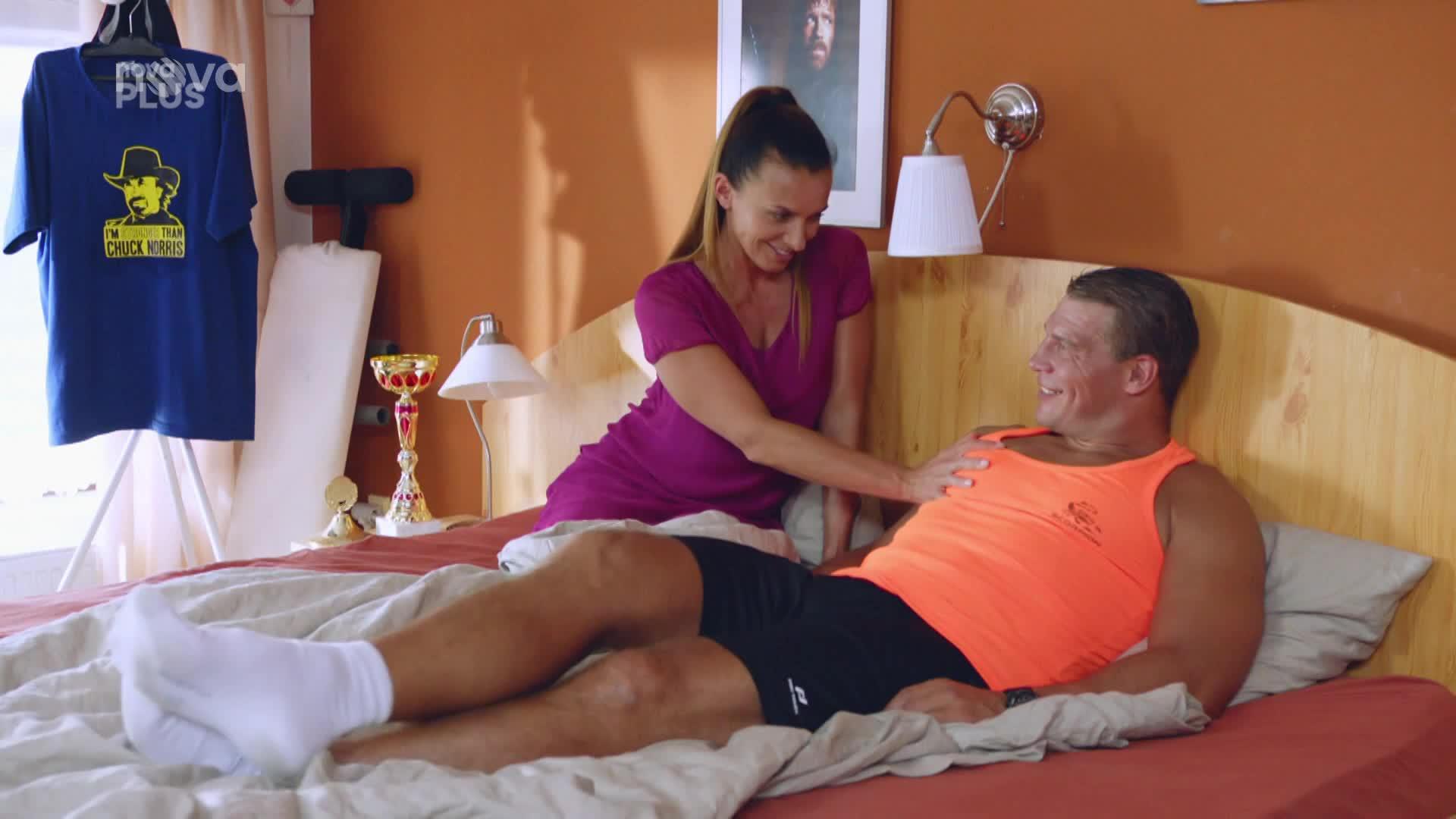 Kontroverzní kickboxer se objeví v seriálu Kameňák: V posteli si užije s Alicí Bendovou