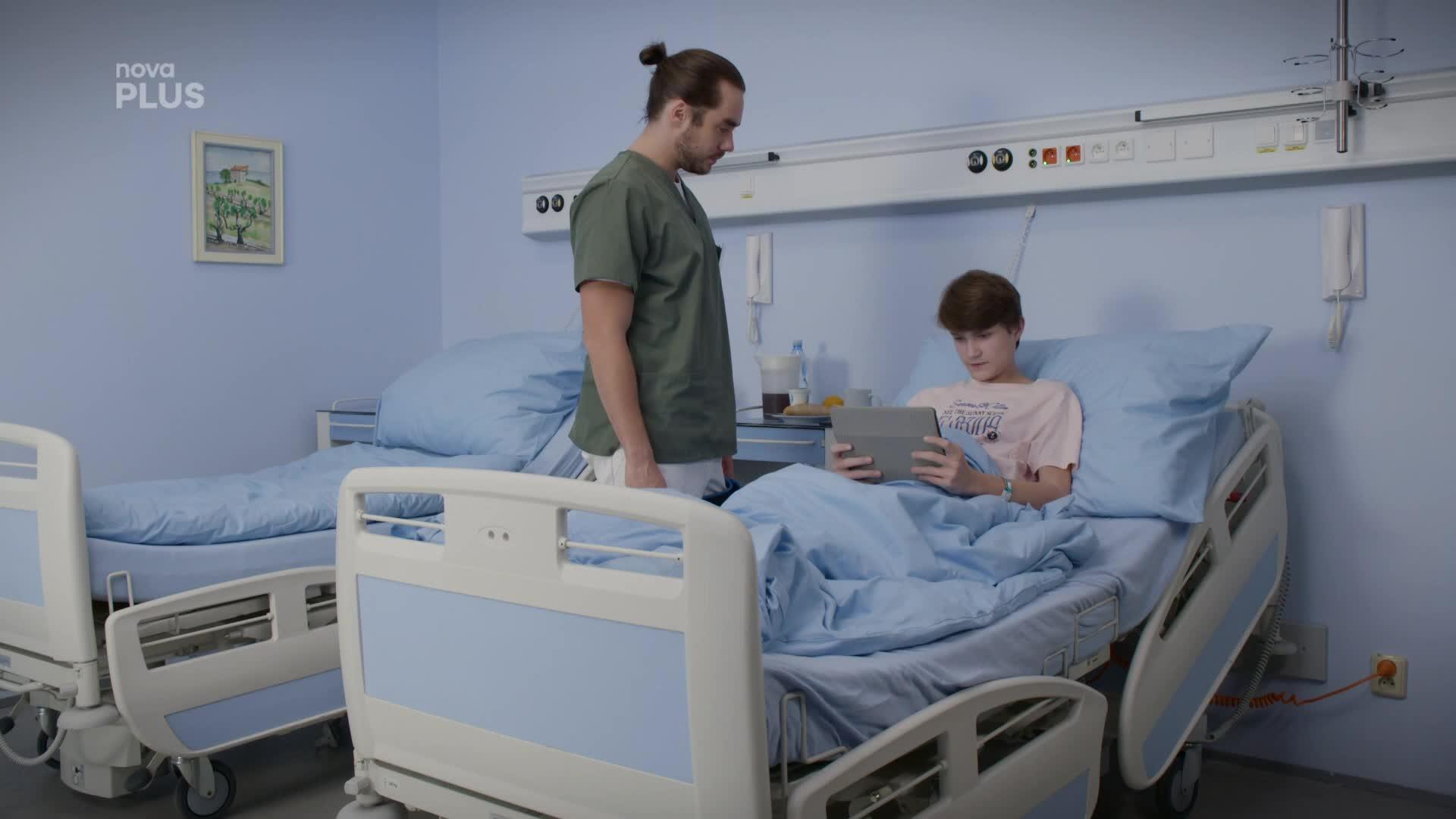 Patrik řeší dilema: Sdělí mladému pacientovi pravdu o jeho děsivé diagnóze?