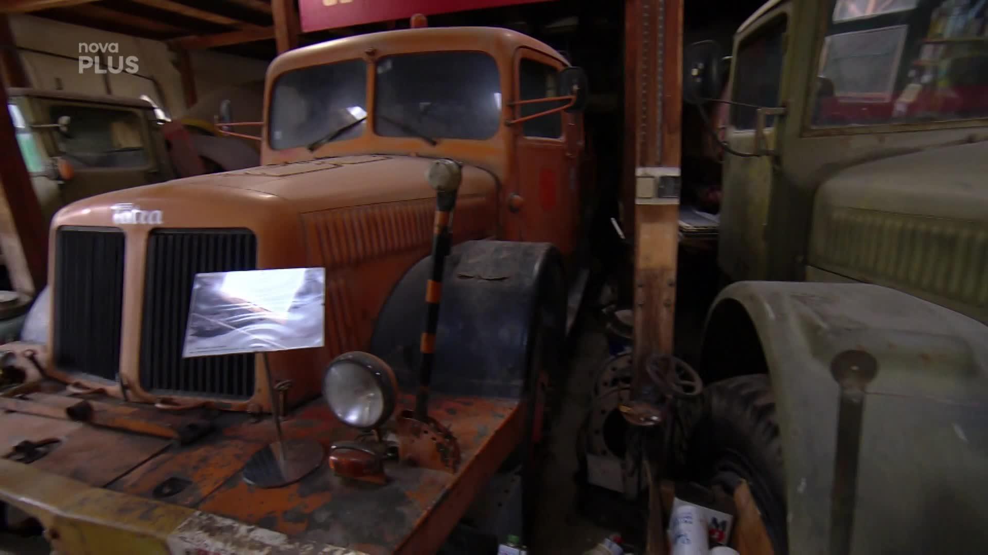 Takovou sbírku hned tak neuvidíte! Staré náklaďáky vyžadují prostor i technologie