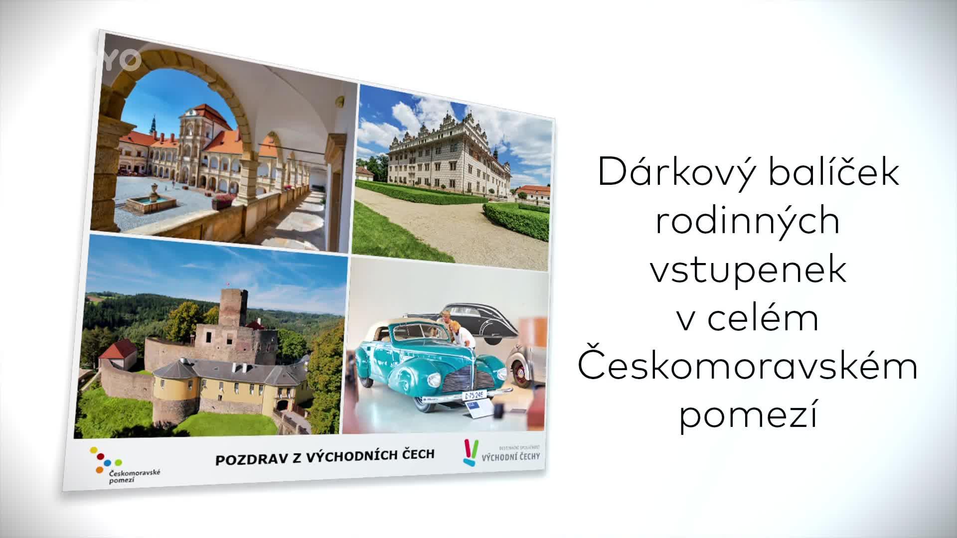 Soutěžte o balíček rodinných vstupenek v turistické oblasti Českomoravské pomezí!
