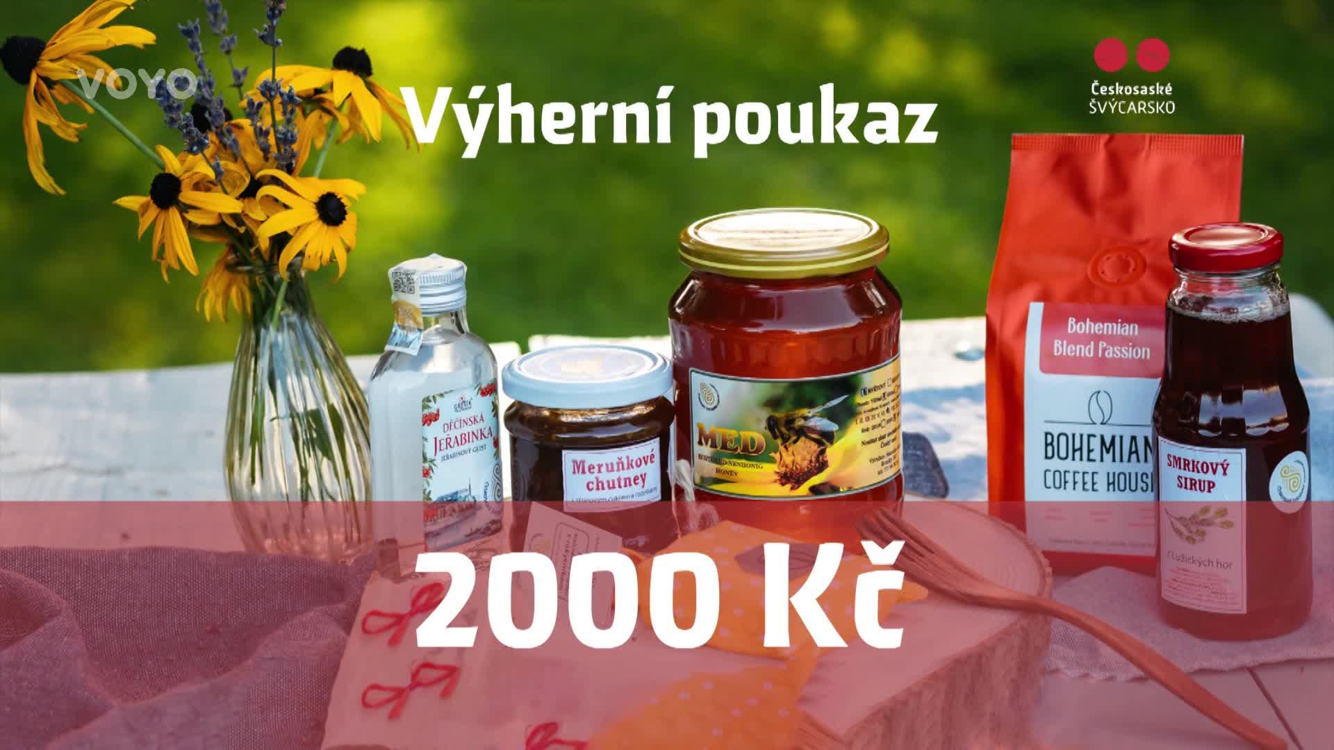 Soutěžte o poukaz v hodnotě 2.000 korun na nákup regionálních výrobků!